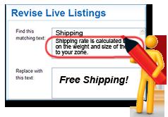Bulk Live-Listing Revision