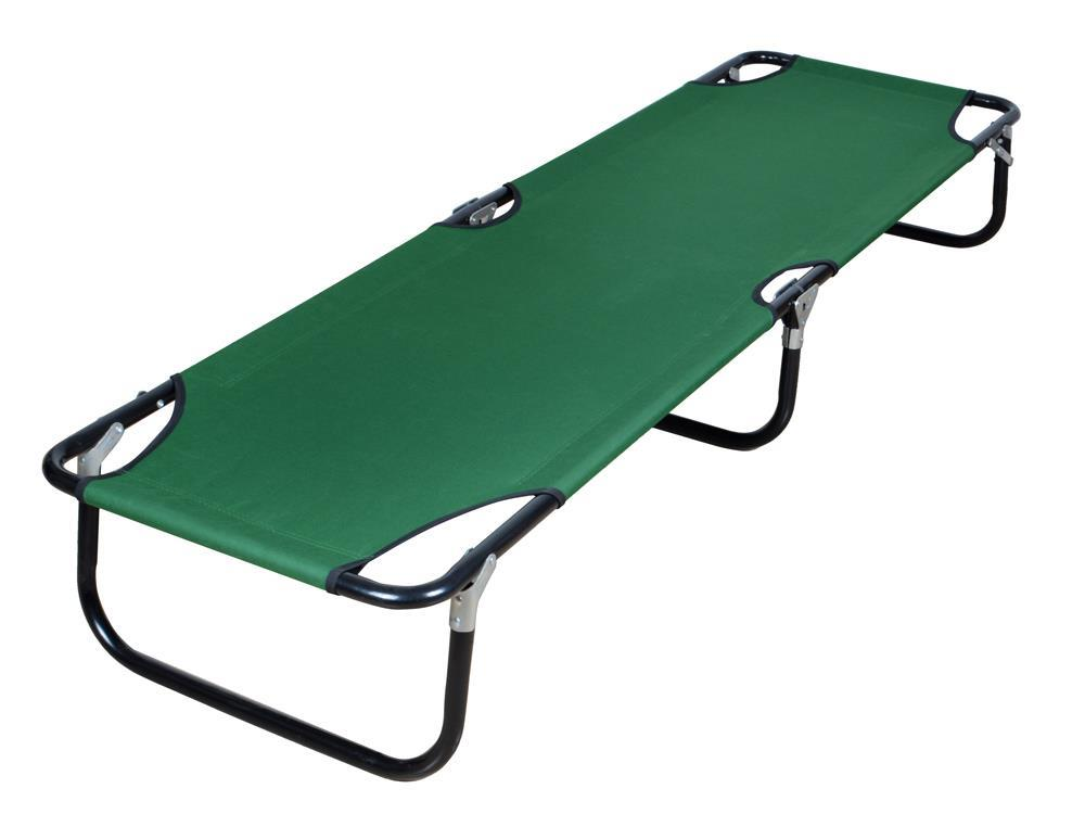Portable Folding Cot Camping Military Hiking Medical Guest ...