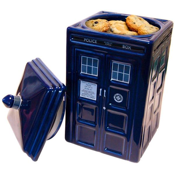 Doctor who tardis ceramic cookie jar official bbc merchandise kitchen gift ebay - Tardis cookie jar ...