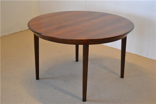 details about danish design rosewoo d dining table vintage 1960