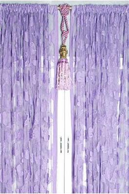 Mauve Purple Butterfly Stringed Fringe Curtain 300x270 Ebay