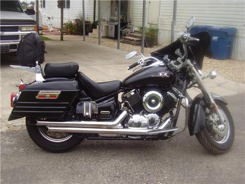 new yamaha v star 1100 hard saddlebags saddle bags ebay