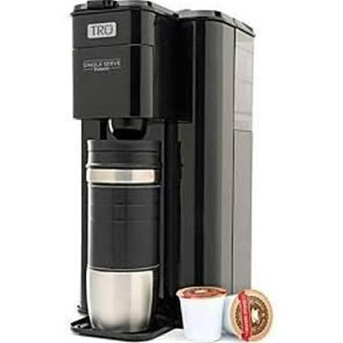 Coffee Maker That Fits Travel Mug : New TRU Single Serve K-CUP Coffee Maker Brew System~Black~CM1000~Tall Travel Mug eBay
