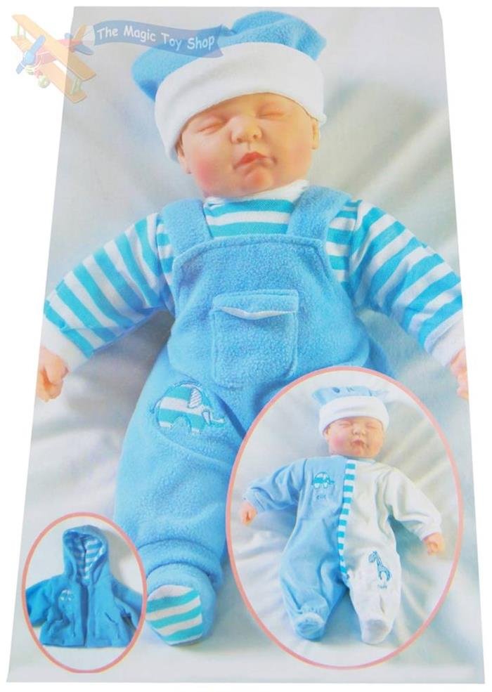 New Born Sleeping Soft Baby Doll Outfit Amp Box Toy 18 Quot Ebay