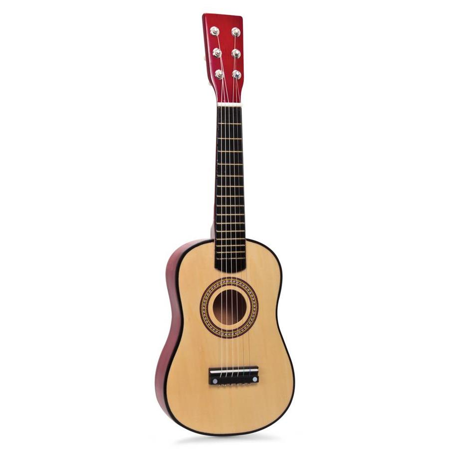 new childrens childs kids wooden guitar acoustic classic musical instrument toy ebay. Black Bedroom Furniture Sets. Home Design Ideas
