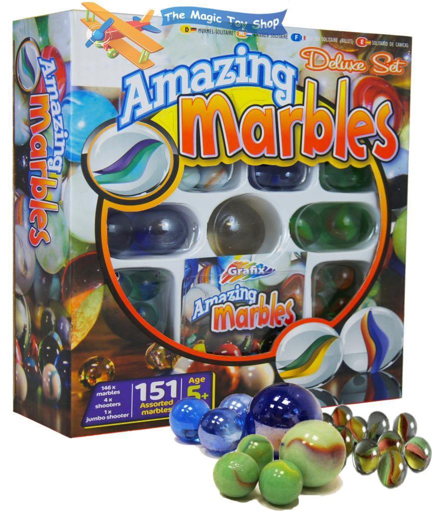 Toys For Marbles : Marble run race set creative building blocks space rail