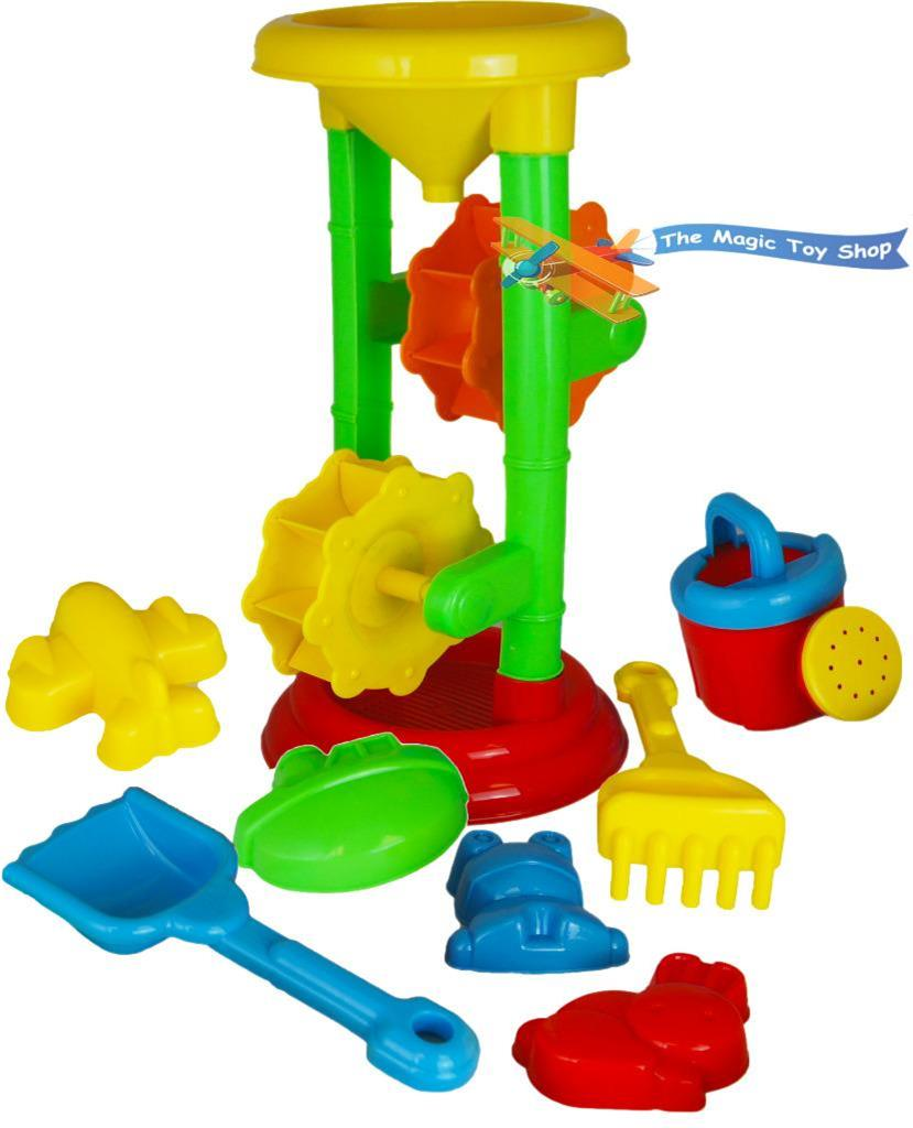 Sand And Water Table Garden Sandpit Play Set Toy With