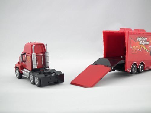 Lightning Mcqueen Mack Truck : Disney pixar cars lightning mcqueen mack truck diecast