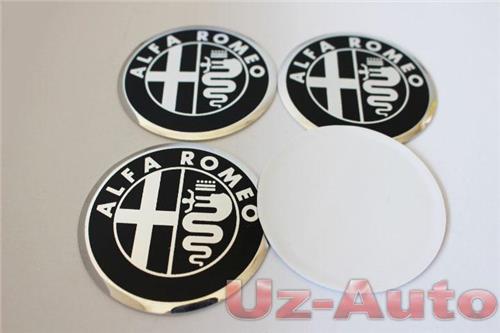 autocollant sticker centre de roue cache moyeu jante alu pour alfa romeo 60mm ebay. Black Bedroom Furniture Sets. Home Design Ideas