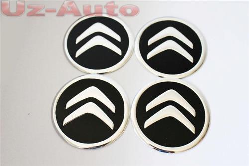 autocollant sticker centre de roue cache moyeu jante alu pour citroen noir 60mm ebay. Black Bedroom Furniture Sets. Home Design Ideas