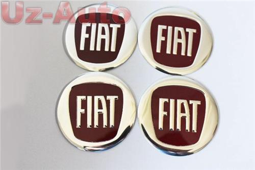 autocollant sticker centre de roue cache moyeu jante alu pour fiat rouge 4x60mm ebay. Black Bedroom Furniture Sets. Home Design Ideas